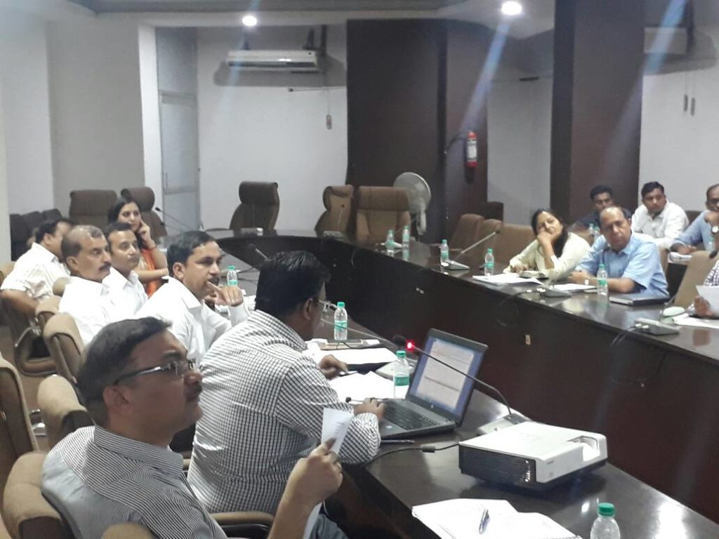 Meeting With MOUD officers and PMC
